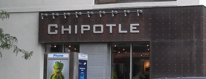 Chipotle Mexican Grill is one of Must-visit Food Around Forty Duece.