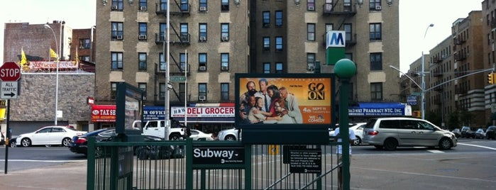 "MTA Subway - Dyckman St (A) is one of ""Be Robin Hood #121212 Concert"" @ New York!."