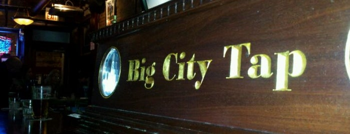 Big City Tap is one of Must-visit Bars in Chicago.