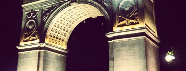 Arch at Washington Square Park is one of Architecture - Great architectural experiences NYC.