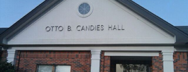 Otto Candies Hall is one of Nicholls State University.
