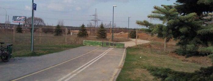Северный конец велодорожки is one of Minsk-on-bike.