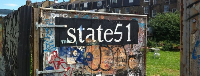 State 51 is one of Silicon Roundabout / Tech City London (Open List).