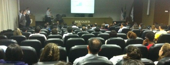 Auditório da Rede Gazeta is one of Pontos de carona.