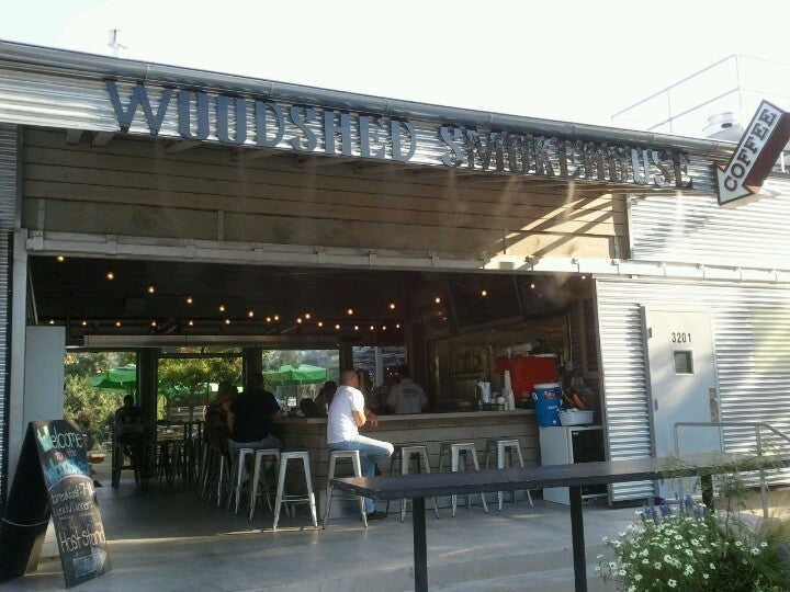 Woodshed Smokehouse At 3201 Riverfront Dr At Rogers Rd