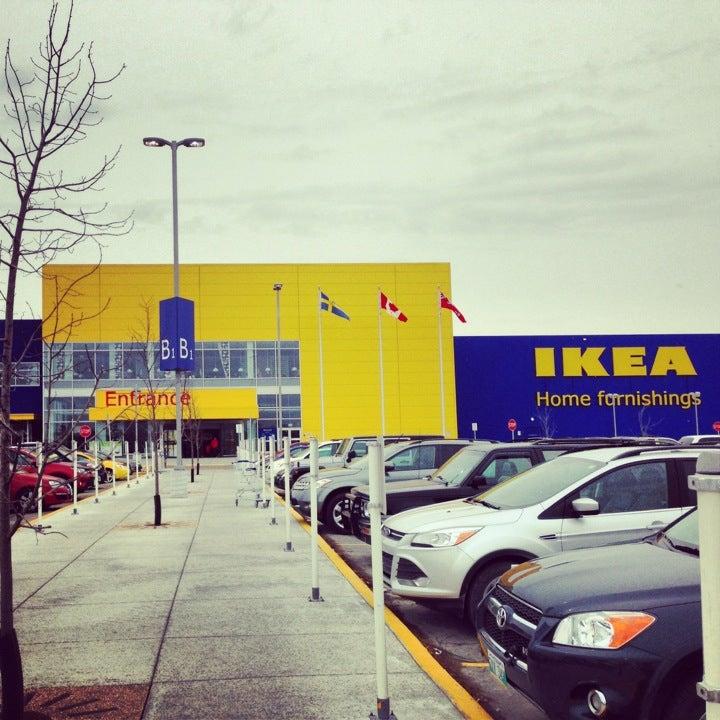 Winnipeg street view for Ikea driving directions
