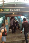 Clementi MRT Station...