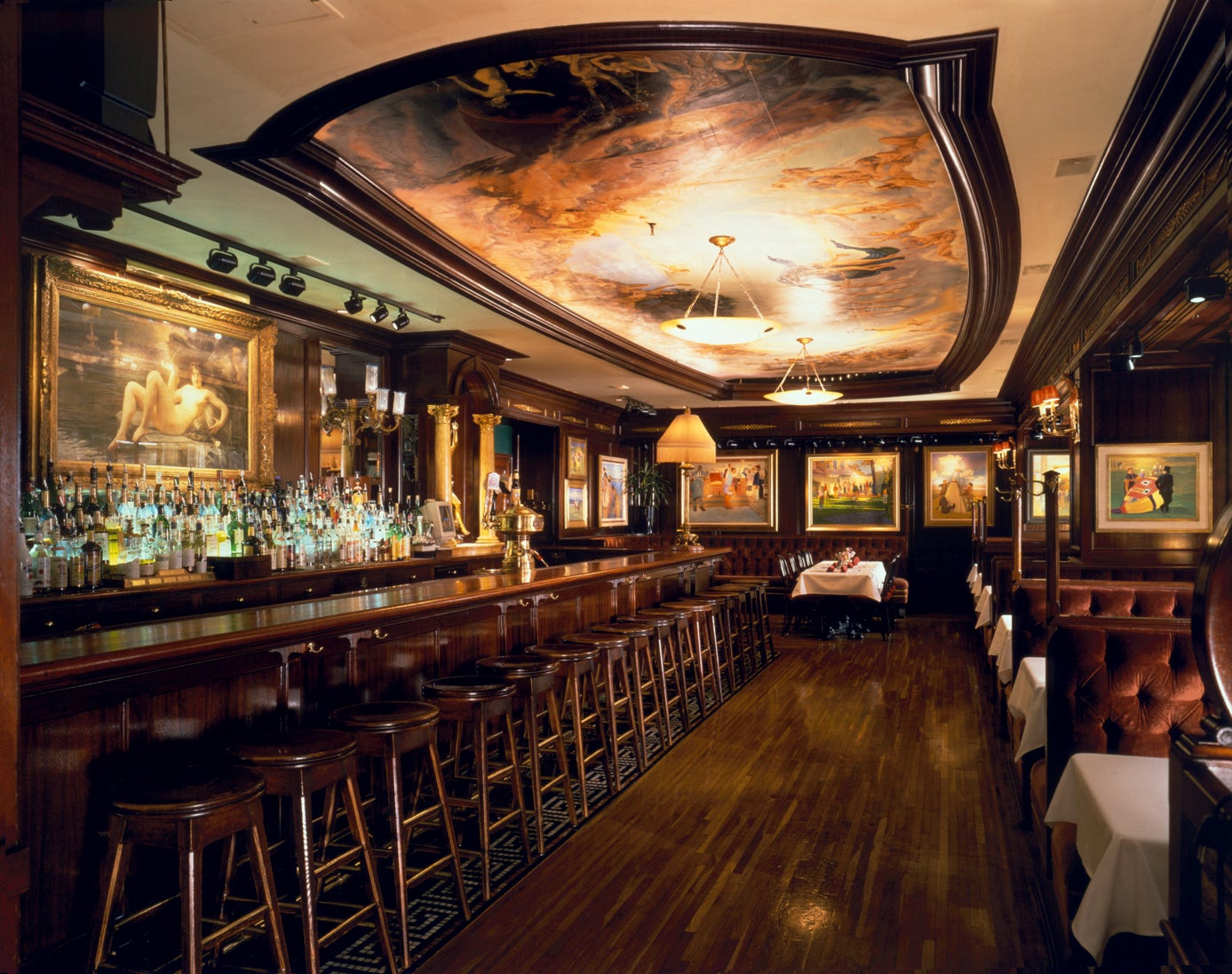 Old ebbitt grill american restaurant 675 15th street for American cuisine washington dc
