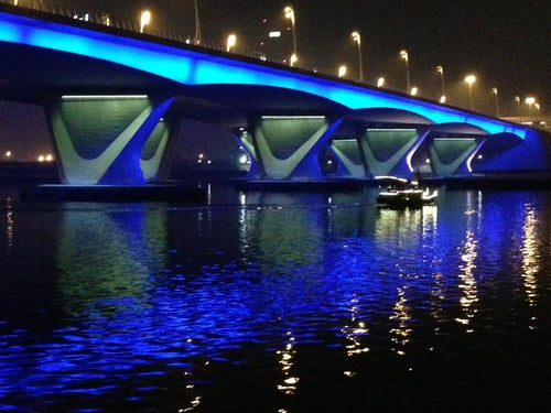 Garhoud Bridge جسر القرهود