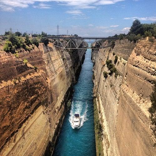 Διώρυγα Κορίνθου (Corinth Canal)