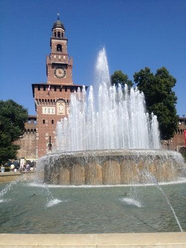 Fontana del Castello Sforzesco