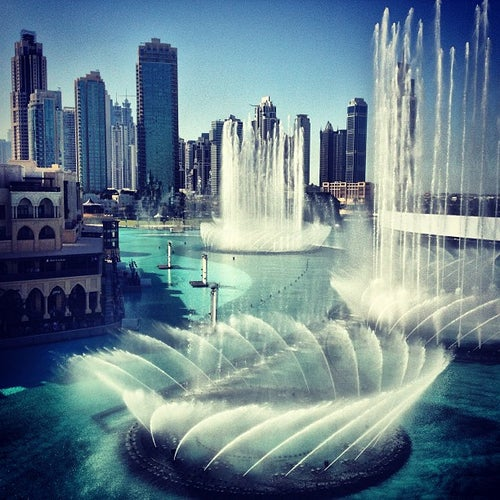 The Dubai Fountain | نافورة دبي
