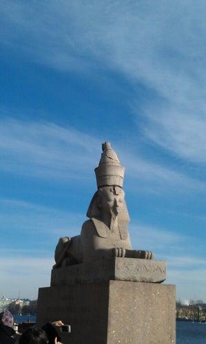 Сфинксы / Quay with Sphinxes