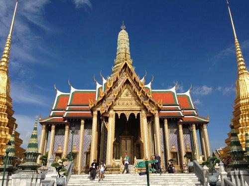 วัดพระศรีรัตนศาสดาราม (Temple of the Emerald Buddha) วัดพระแก้ว