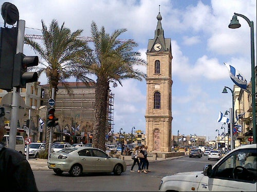 The Jaffa Clock Tower / מגדל השעון ביפו