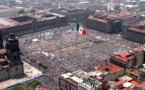 Plaza de la Constitución (Zócalo)