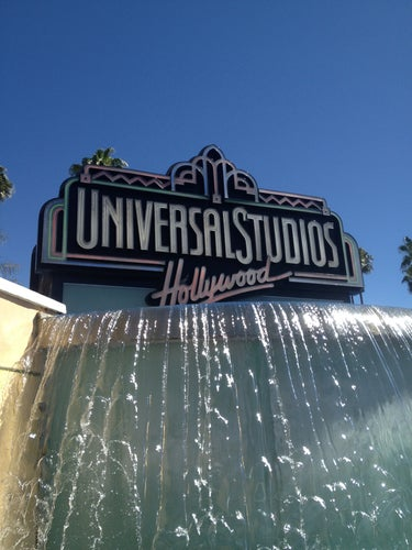 Universal Studios Hollywood Globe and Fountain