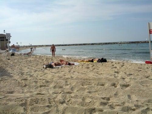 Nordau (Sheraton) Beach || חוף נורדאו (שרתון)