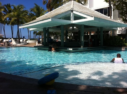 Poolside at Conrad Condado Plaza