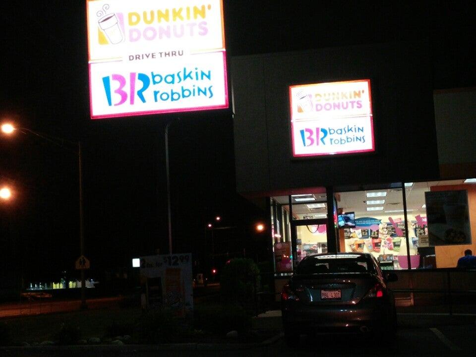 Dunkin' Donuts,coffee,donut shop,donuts,ice cream