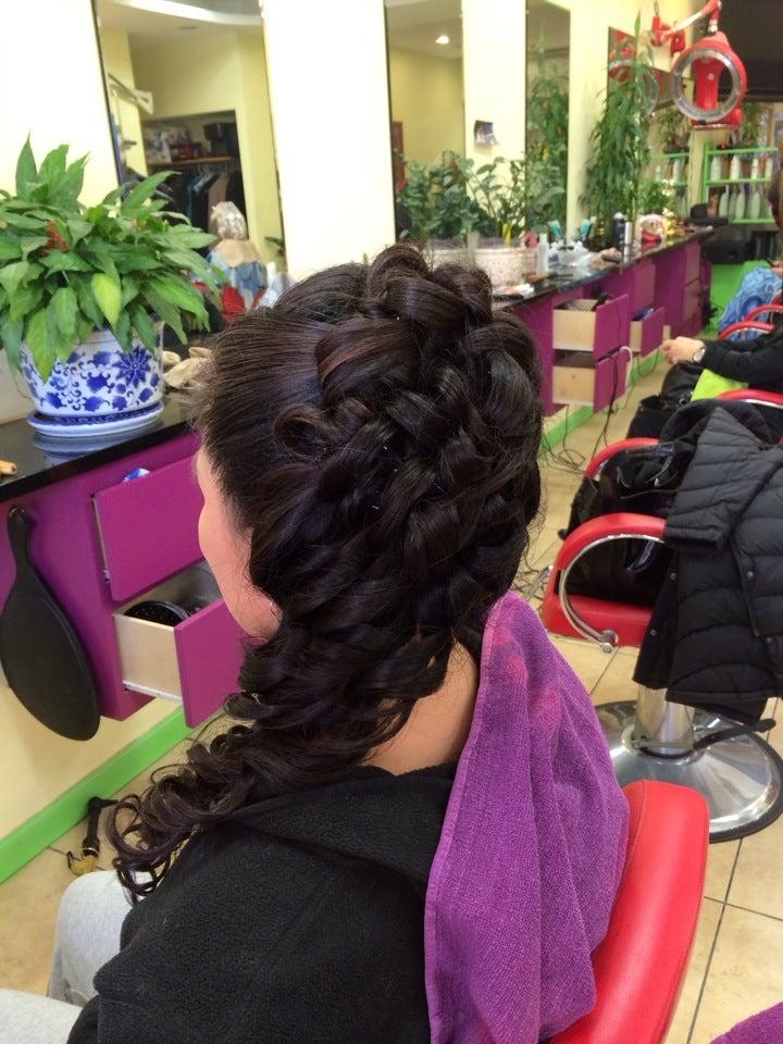 Trendy Hair & Nail Spa,hair salon