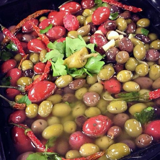 Cracked Olive Market,