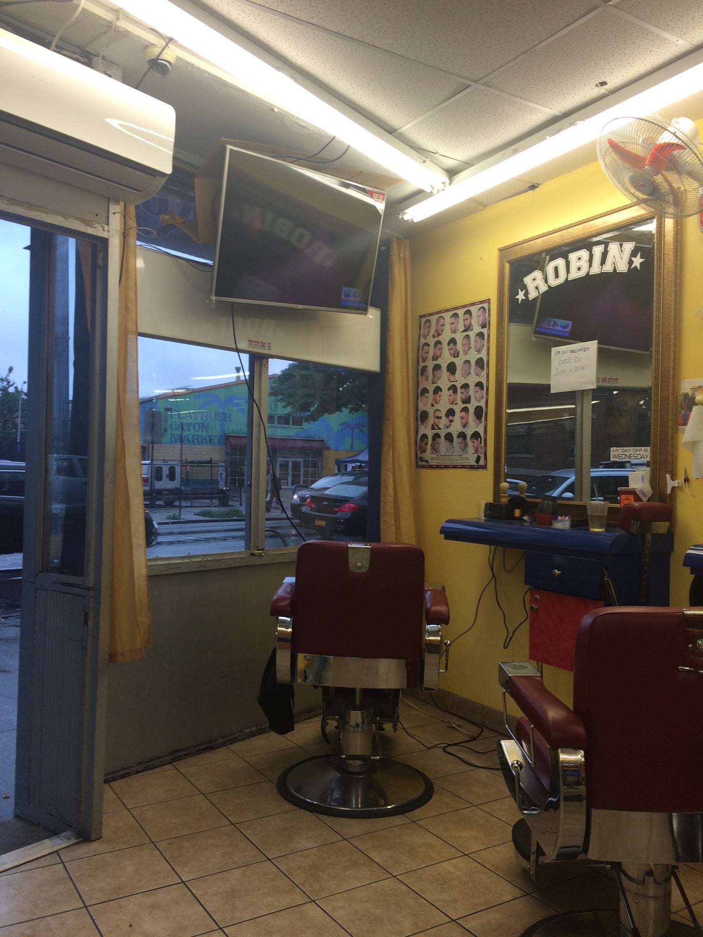 Dominican Barber Shop,