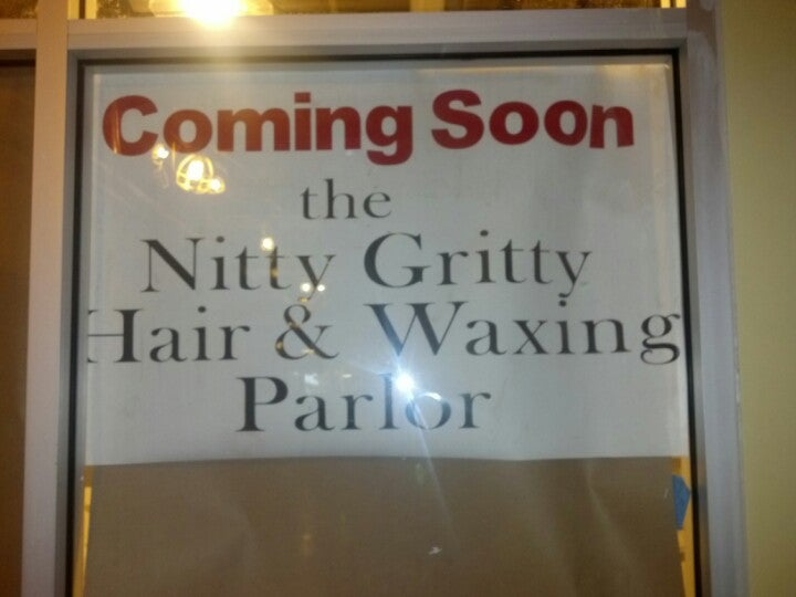NITTY GRITTY HAIR & WAXING PARLOR THE,