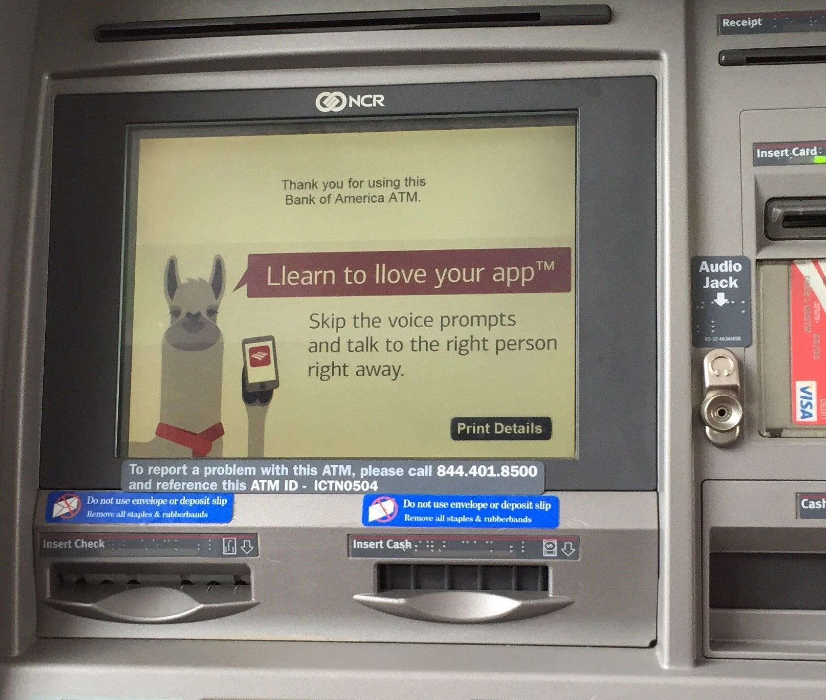 Bank of America,