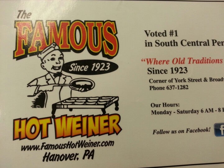 Famous Hot Weiner North Inc,