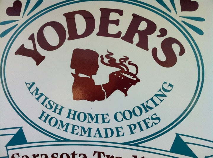 Yoder's Restaurant,amish,homecooking,man vs food,pie