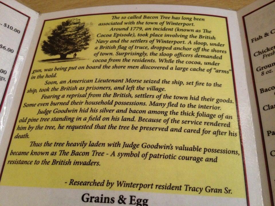 The Bacon Tree,