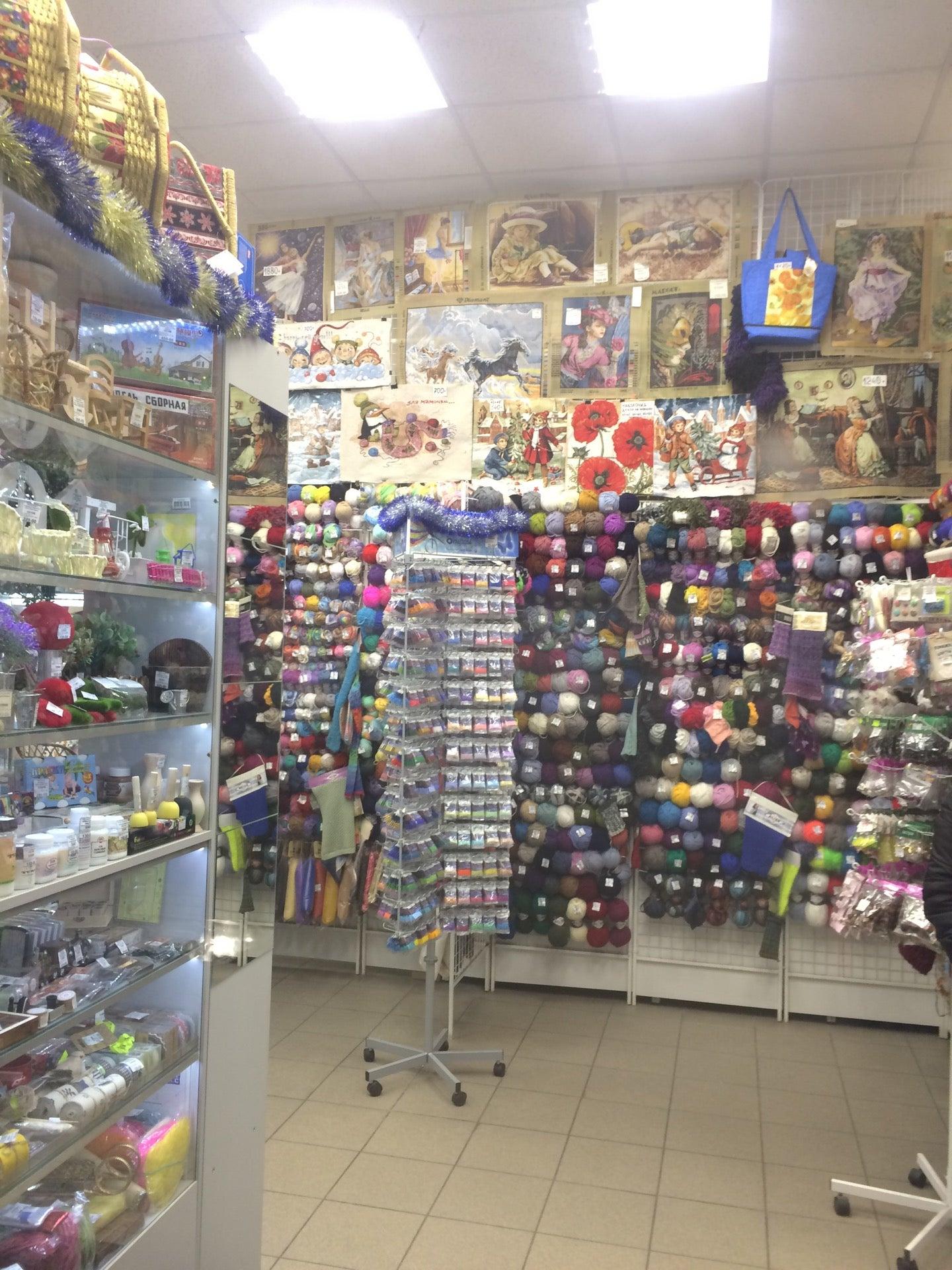 Магазины вышивки в спб адреса