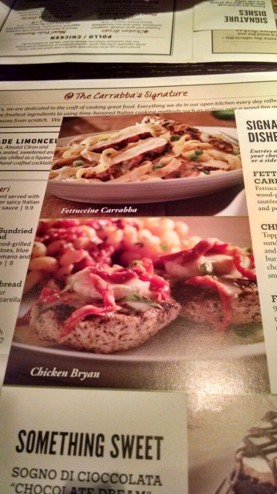 Carrabba's Italian Grill,