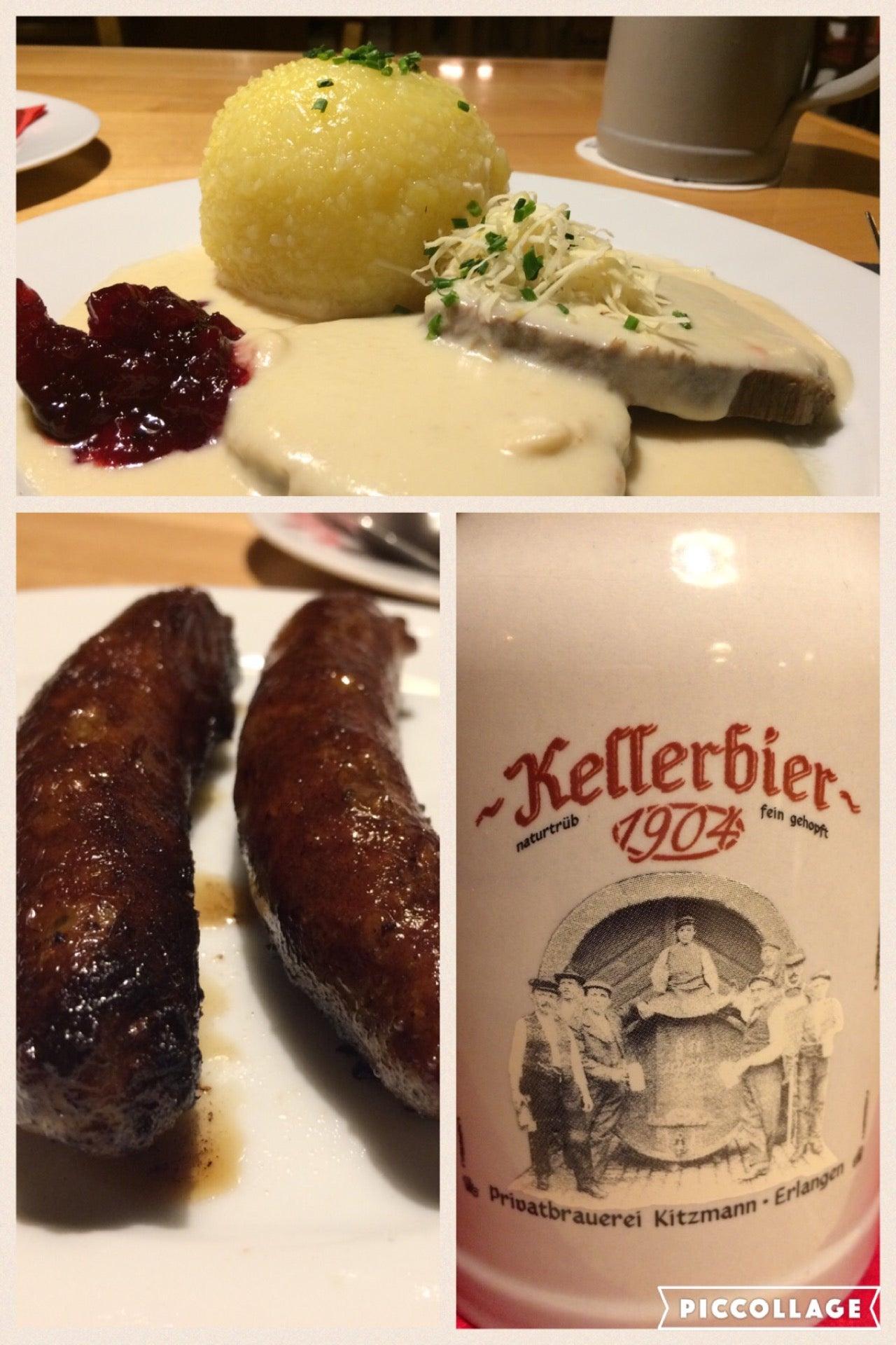 Kitzmann BräuSchänke in Erlangen – speisekarte.de