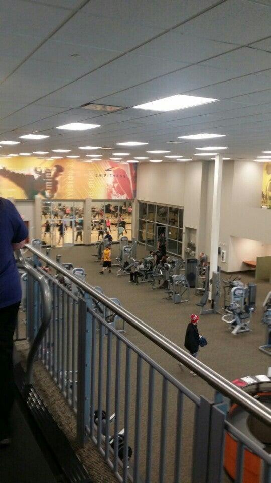 L.A. Fitness,gym,health club