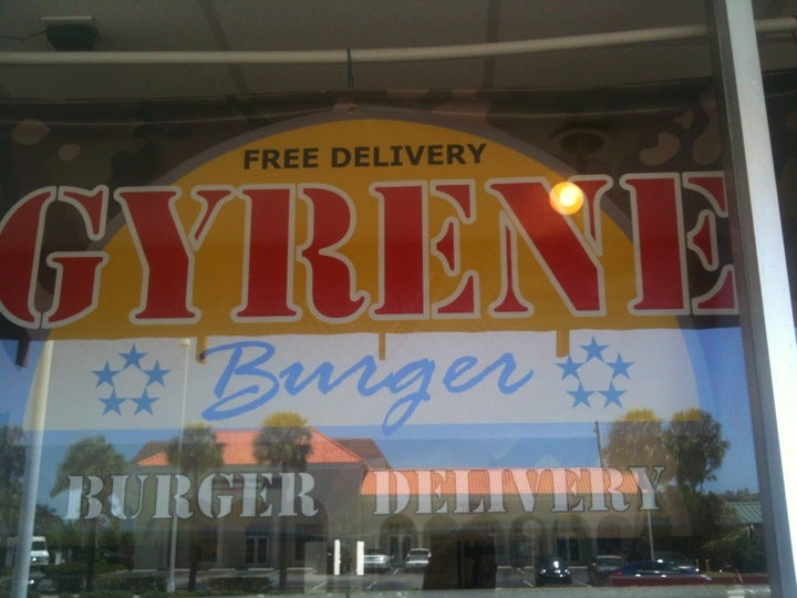 Gyrene Burger,burger,free delivery,fries,take-out