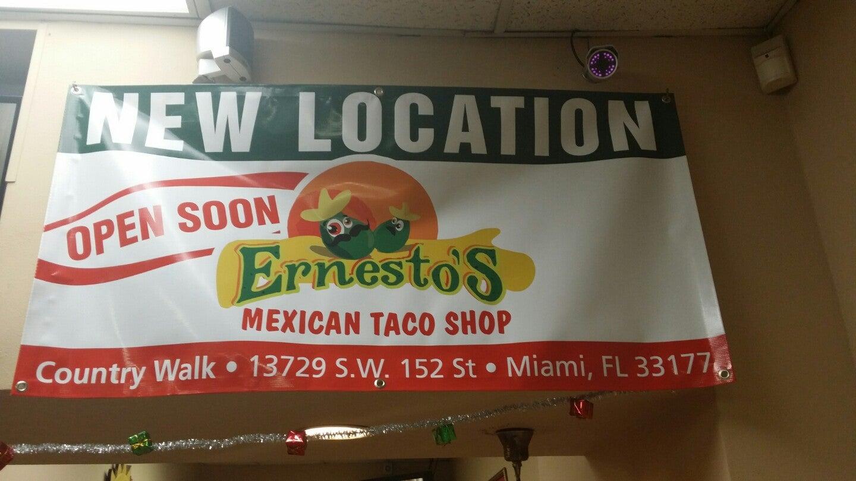 Ernestos Taco Shop,