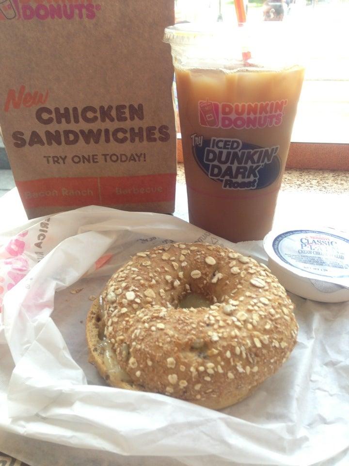 Dunkin' Donuts,bagel,caffeine,coffee,donut shop,donuts