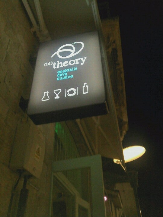 In theory bar