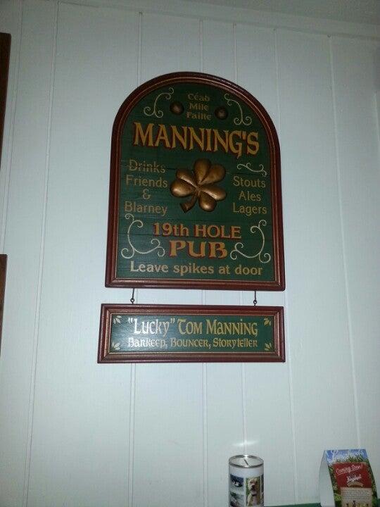 MANNING'S IRISH PUB,