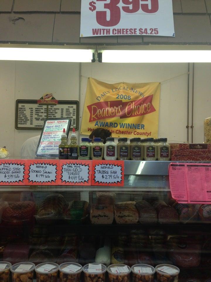 Colonial Village Meat Market,