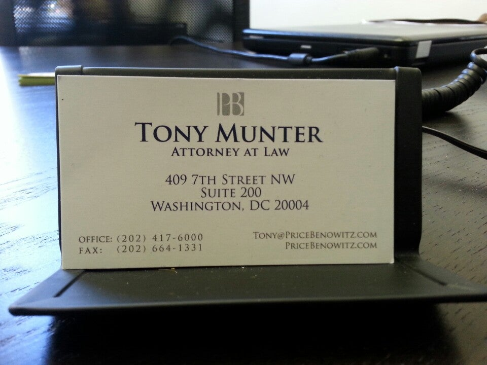 Tony Munter Whistleblower Attorney,