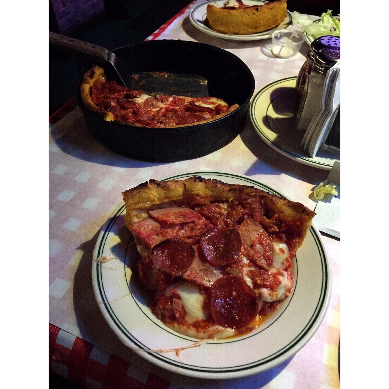 Gino's,man v. food