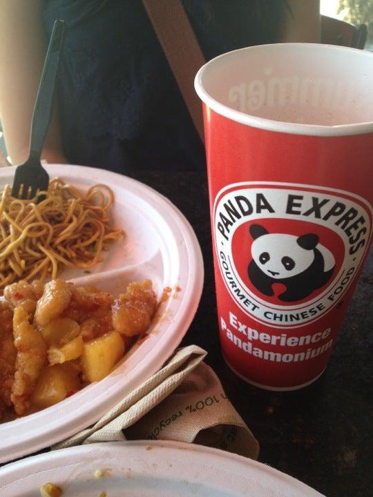 PANDA EXPRESS,chinese, orange chicken, pot stickers