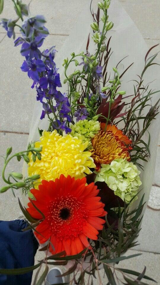 Jazzy Flowers,