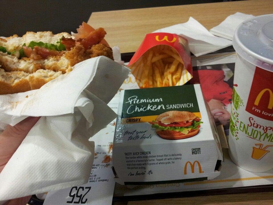 MCDONALD'S,burgers,fastbood,fries,milkshake