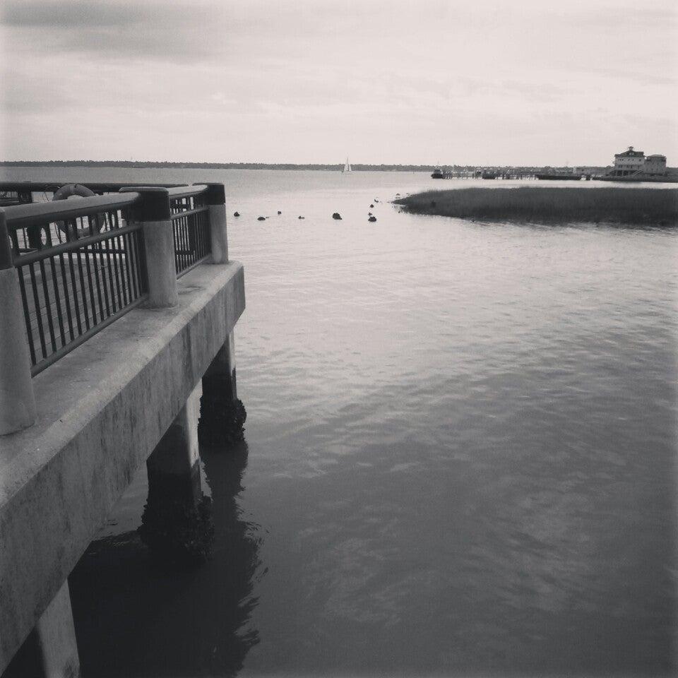 Charleston Pier Swings