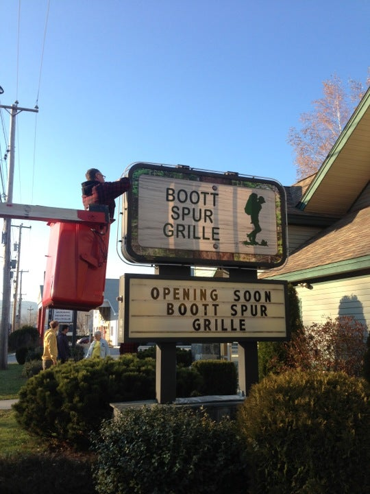 Boott Spur Grille,