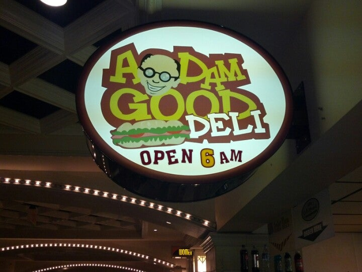 A Dam Good Deli,deli, breakfast, lunch, dinner, late night, 24 hours friday and saturday